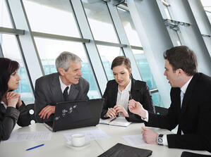 Group of business people discussion at conference room-2